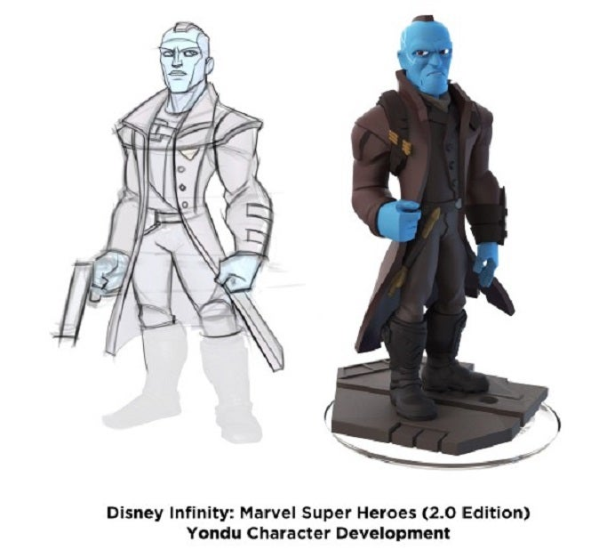 Yondu From Guardians Of The Galaxy Is Coming To Disney Infinity