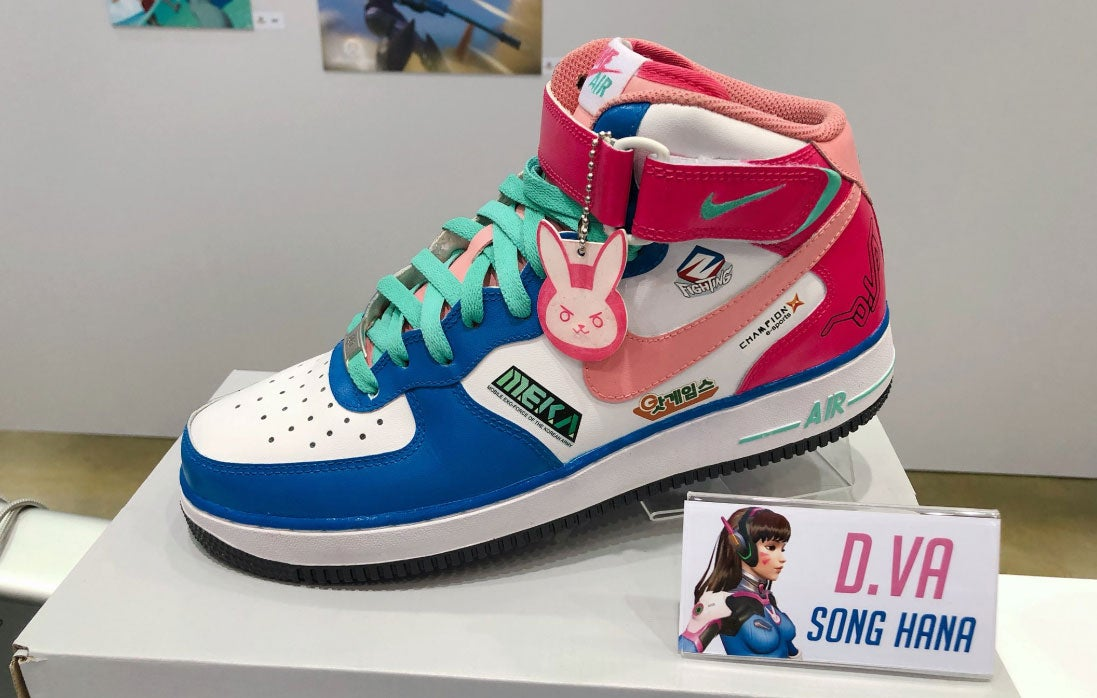Nike, Make These Overwatch Sneakers