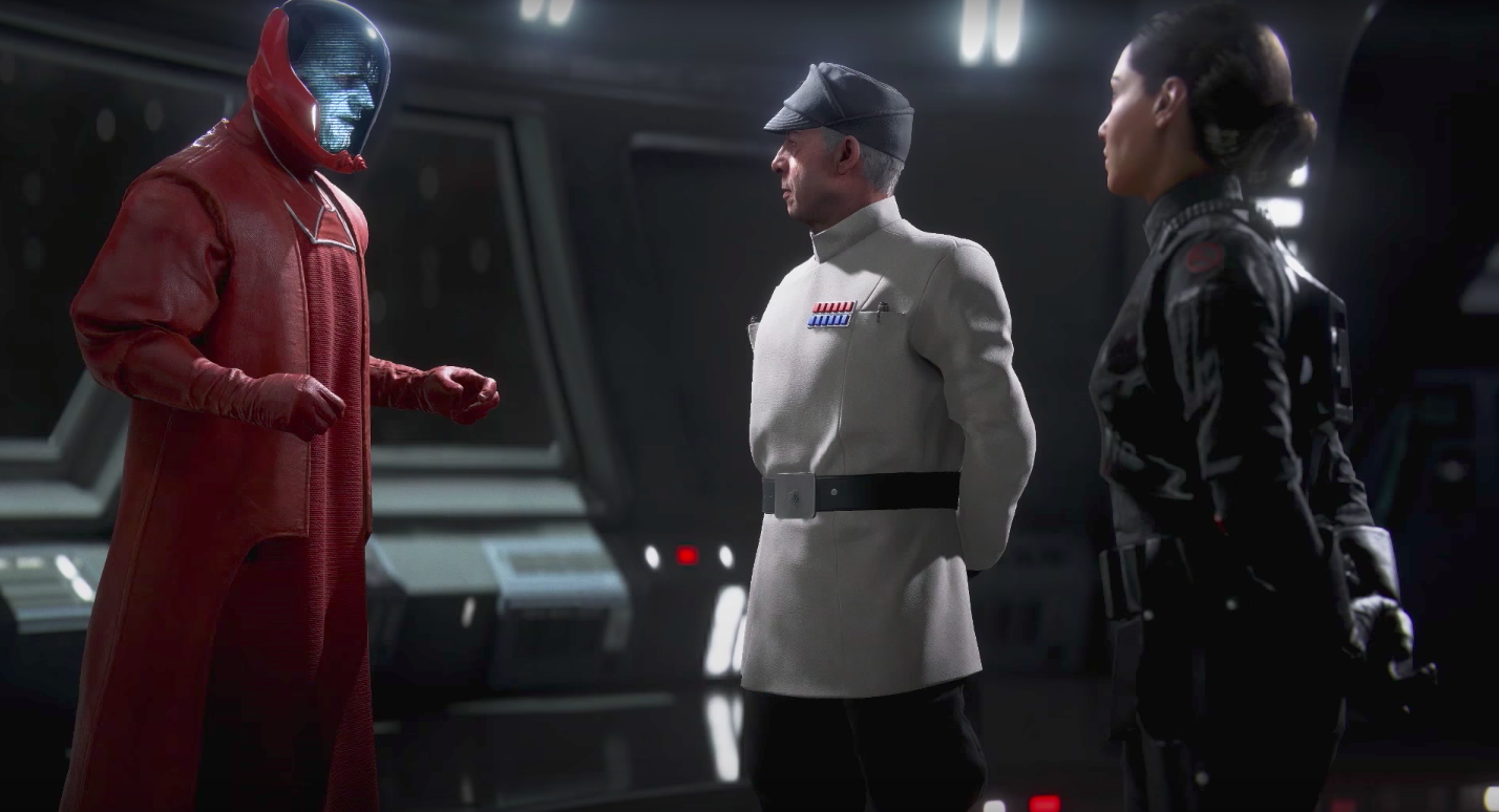 Battlefront 2 story cutscene shows the Emperor's last command in exquisite detail