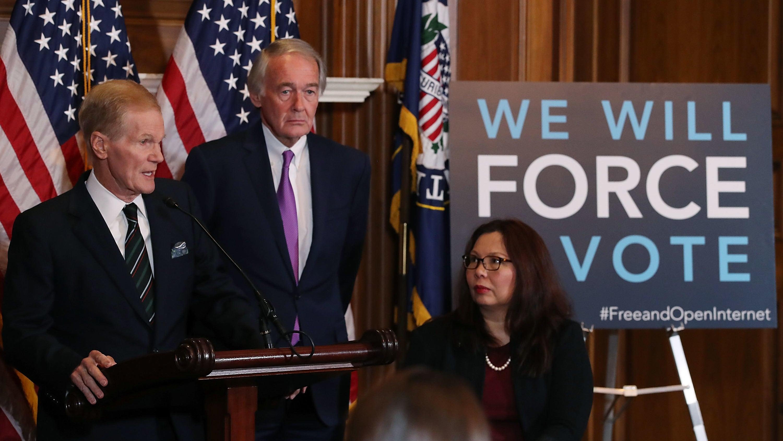 US Senate Democrats Promise Vote To Restore Net Neutrality, Call FCC's Order 'Un-American'