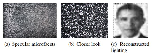 An Algorithm Found These Images Hidden In Reflections From Glitter