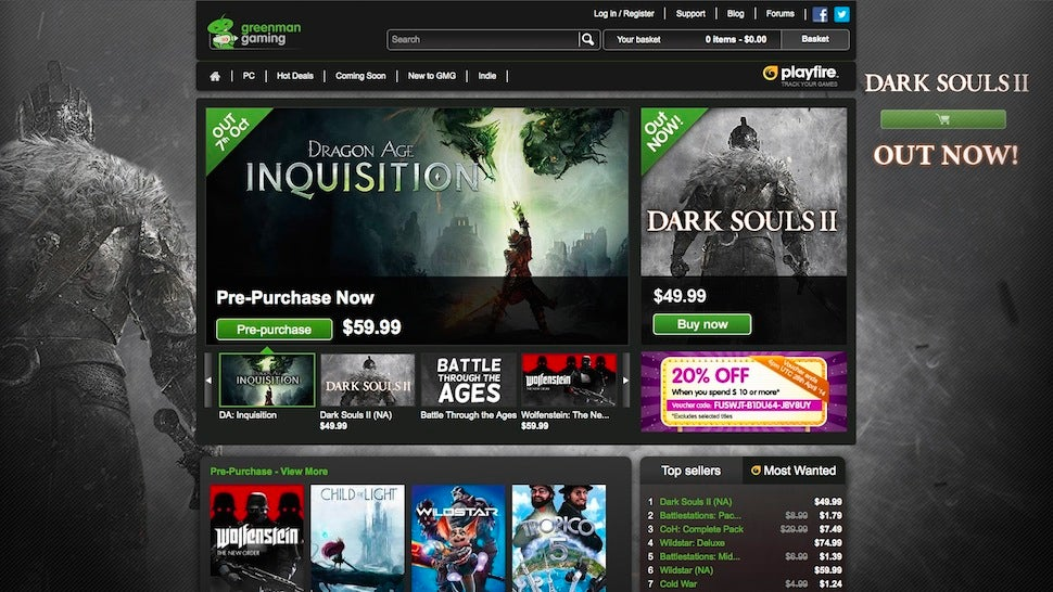 Five best online stores for pc games lifehacker australia for Best websites to buy online