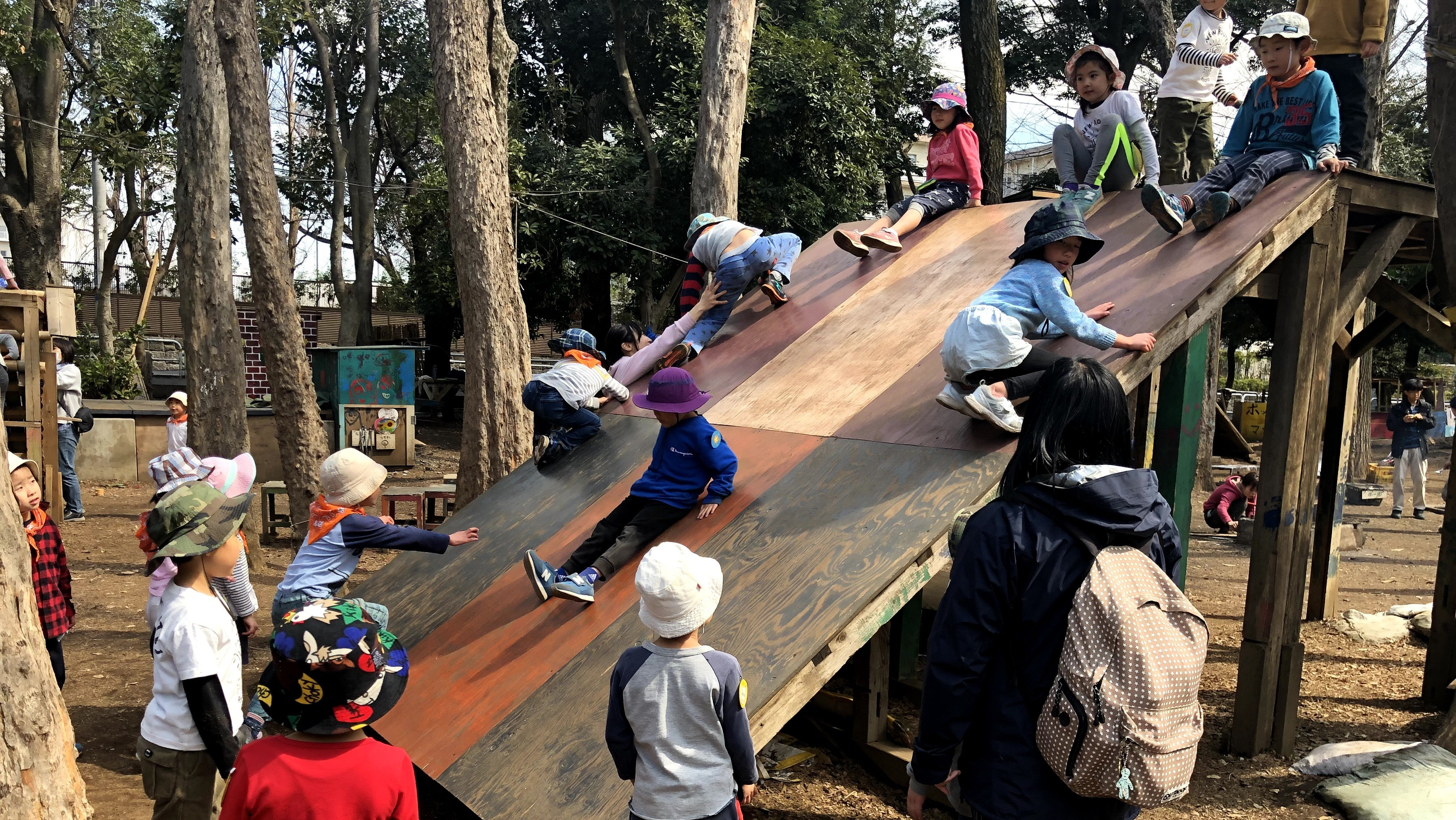 This Playground In Tokyo Encourages Kids To Take Risks