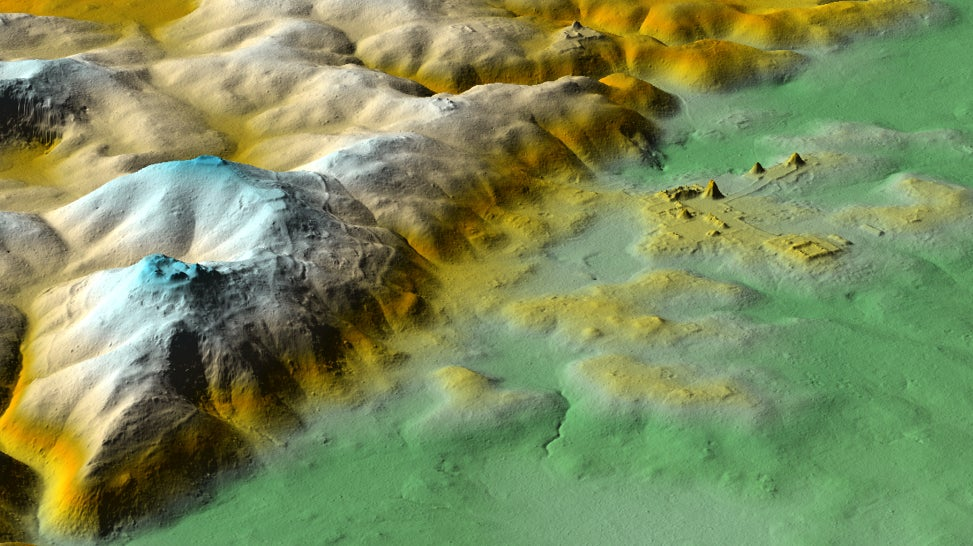 Hidden Pyramid Among Thousands Of Ancient Maya Structures Revealed By New Aerial Survey