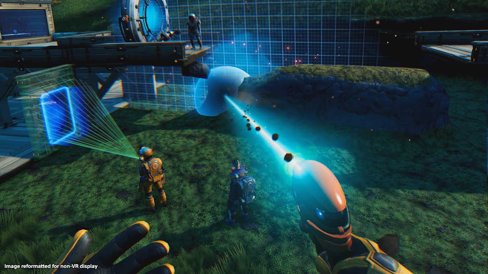 I Played No Man's Sky VR And Almost Punched Sean Murray In The Face