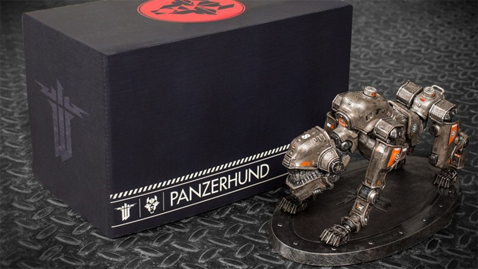 $100 Wolfenstein Panzerhound Edition Comes With A Sweet Dog, No Game
