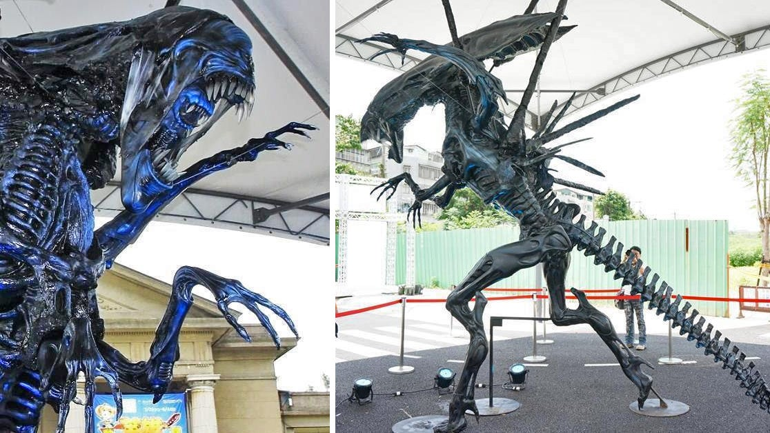 The Ultimate Lawn Ornament Is This Life-Size $100,000 Alien Queen Statue