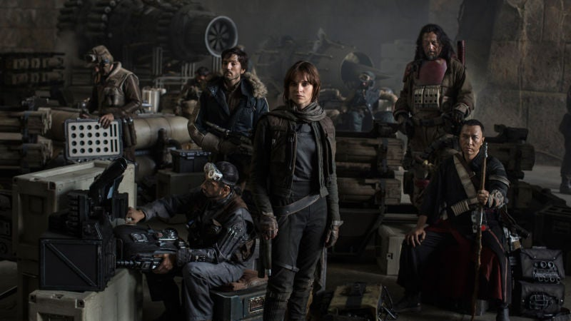 Rogue One Images Confirm New Ships, New Characters, and a Major Cameo