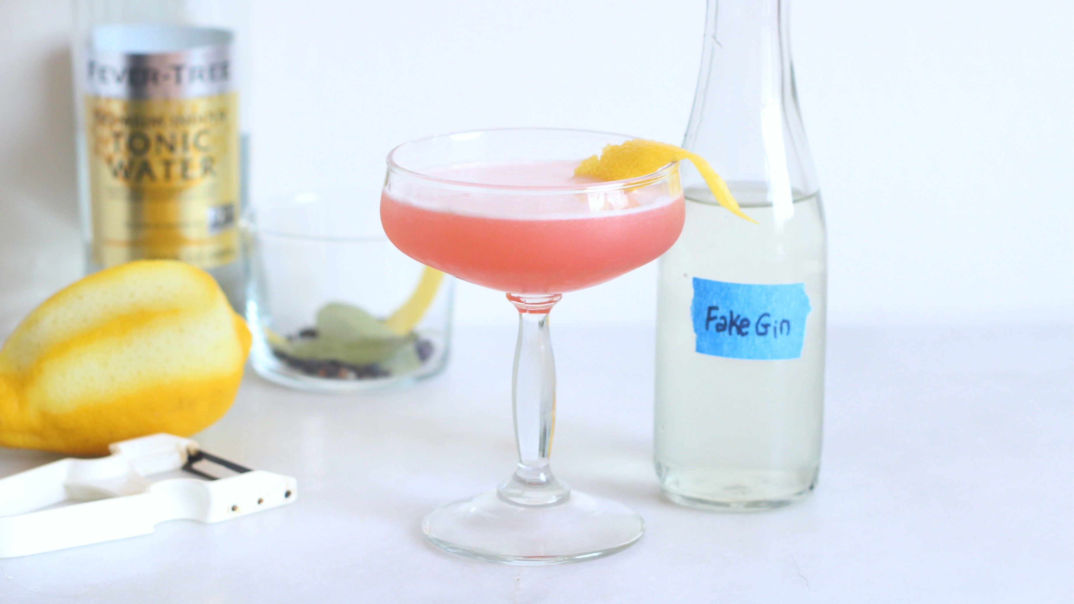 Make Your Own No-Proof 'Spirit' With Flat Tonic Water