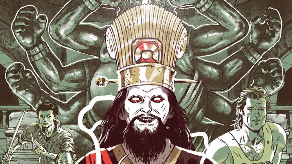 Big Trouble In Little China's Loudmouth Hero Makes One Last Stand In New Comic SeriesOld Man Jack