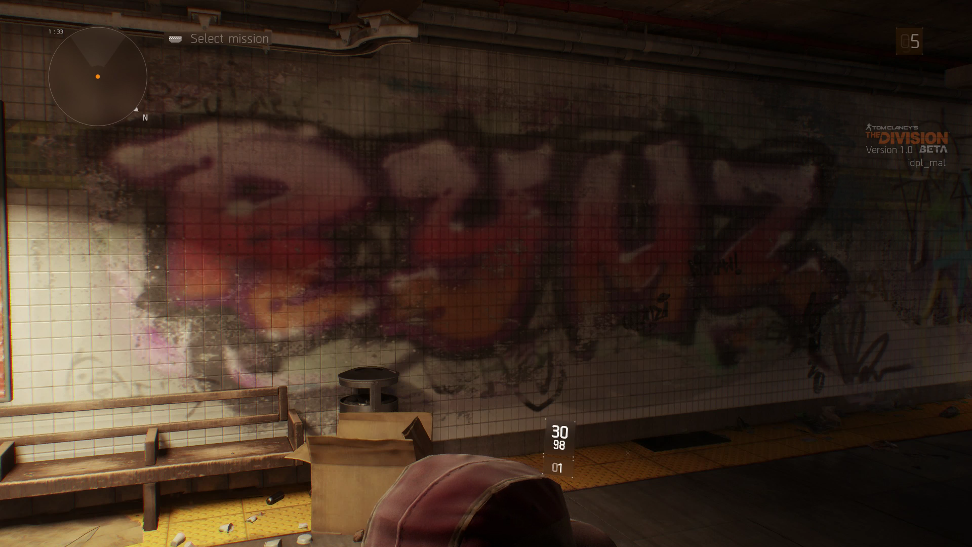 Good Job With The Graffiti, The Division