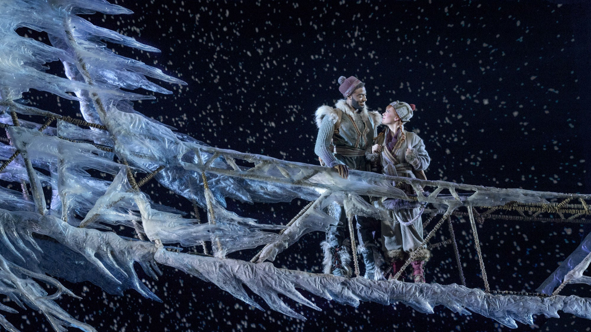 The Broadway Production Of Disney's Frozen Looks Predictably Beautiful