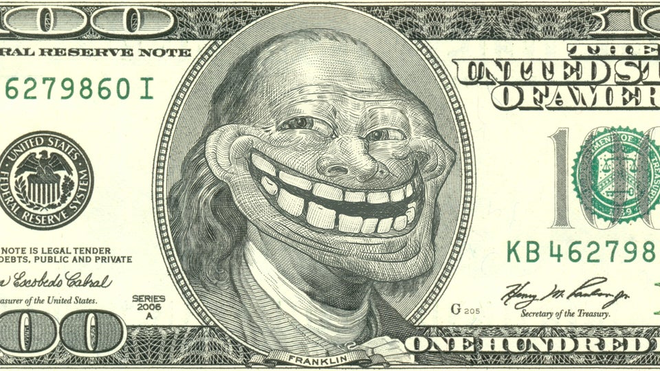 The Maker Of The Trollface Meme Is Counting His Money