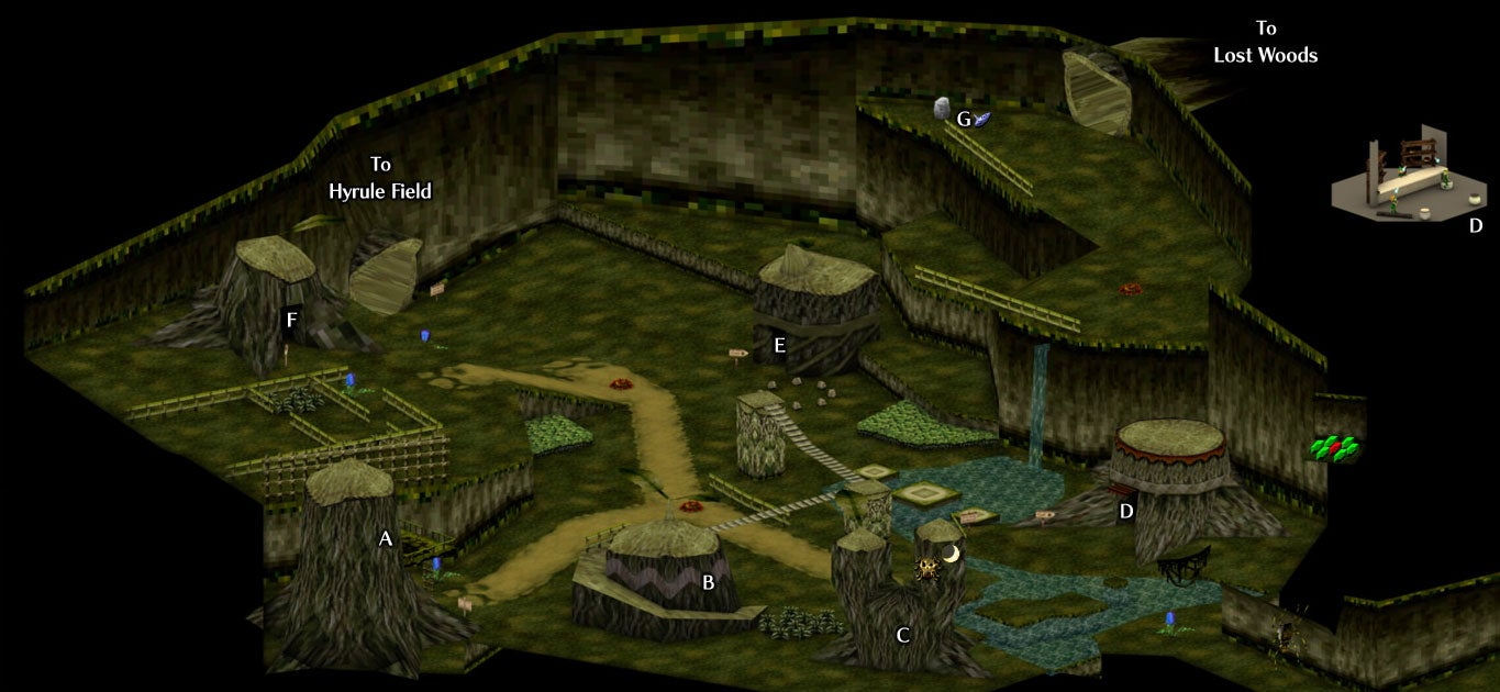 Here Are Some Isometric Ocarina Of Time Maps