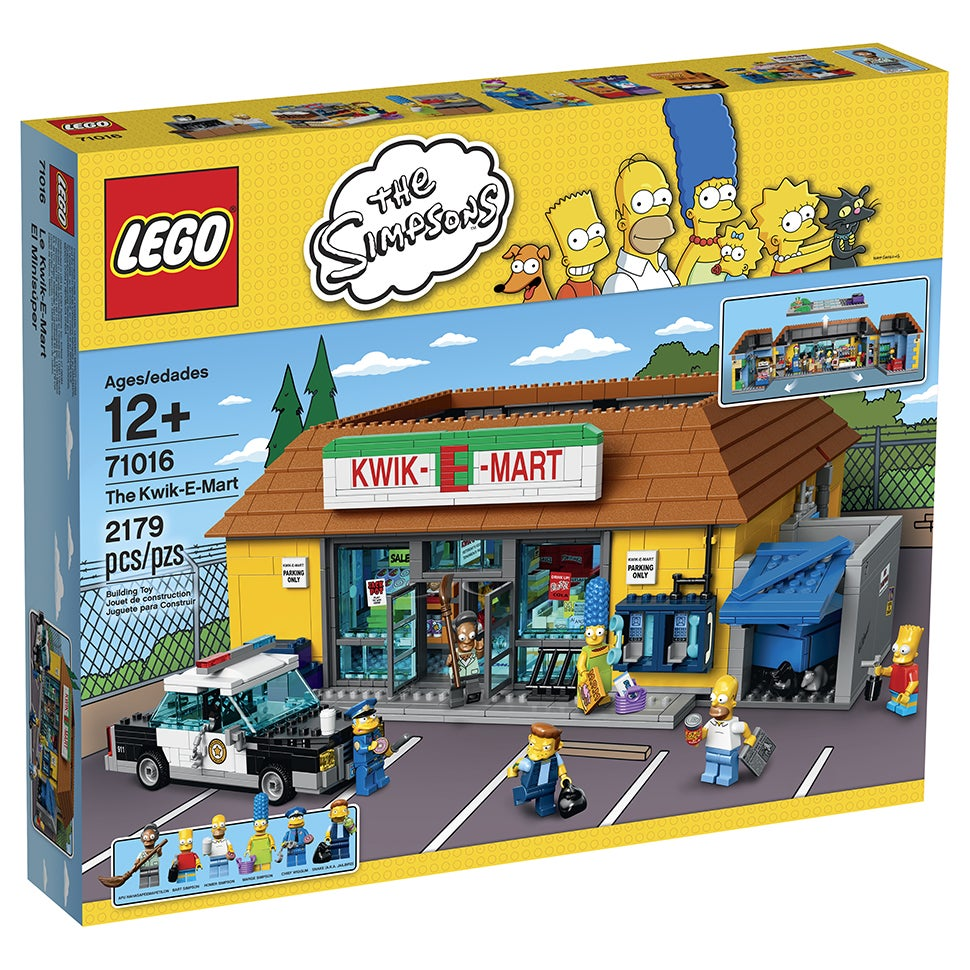 The Official LEGO Kwik-E-Mart Is Also Cursed
