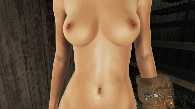 Inside The NSFW World of Fallout and Skyrim Nudity Mods