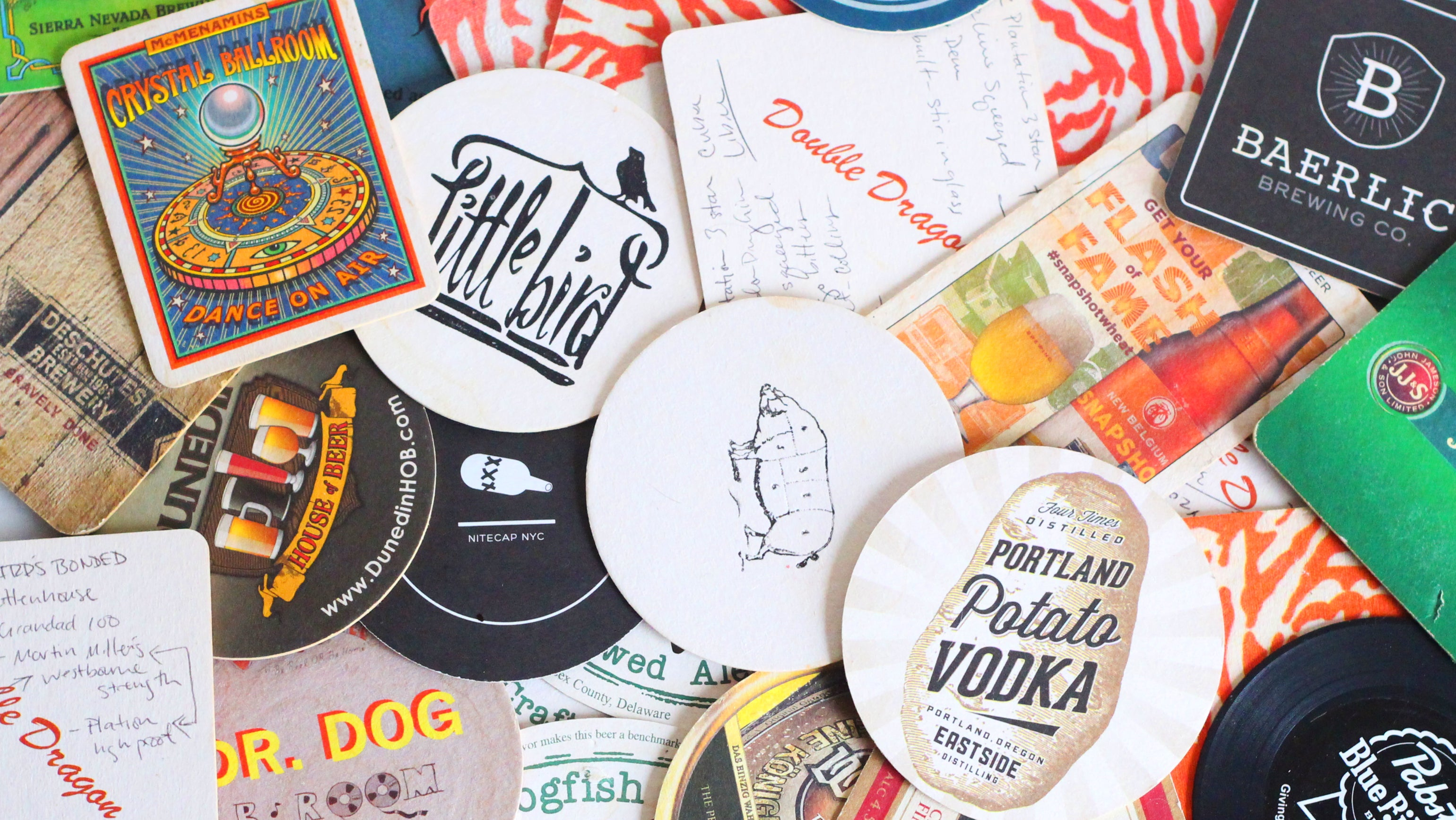 Take Coasters From Bars