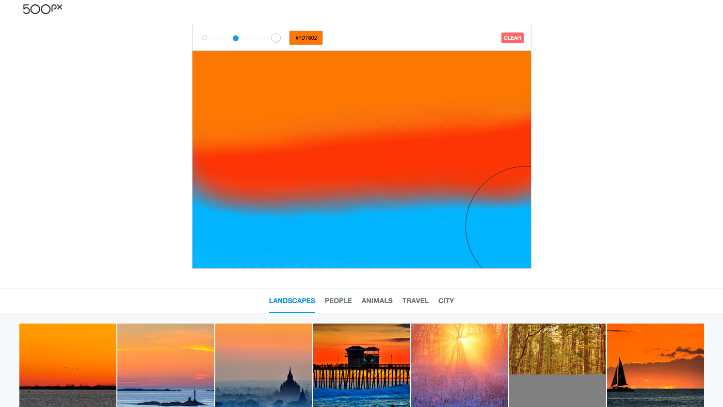 500px's Splash Lets You Search For Photos By Sketching Them