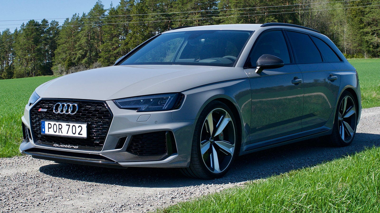 The 2018 Audi Rs4 Avant Is The Clean Cut Performance Wagon Of Your