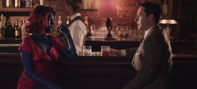 The X-Men Try To Save Don Draper In This Funny Ad