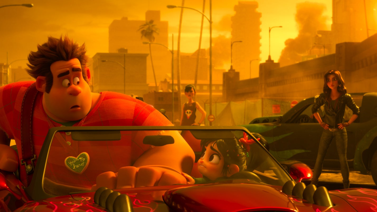 Ralph Breaks The Internet's Directors On TheImportance OfSlaughter Race, The Film'sGrand Theft AutoClone