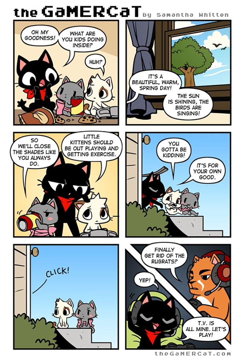 Sunday Comics: Nice
