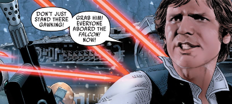 There's Something Off About Marvel's Star Wars Comic