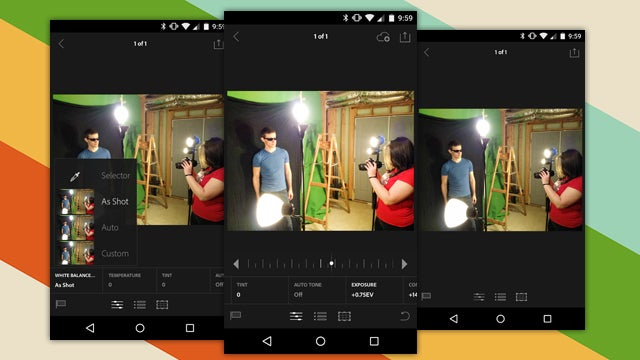 Adobe Lightroom Comes to Android Phones