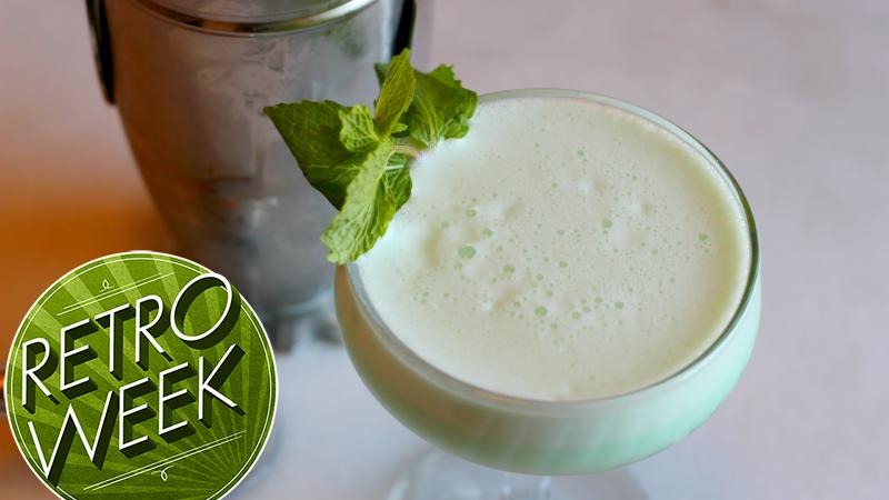 3-Ingredient Happy Hour: The Decidedly Retro Grasshopper