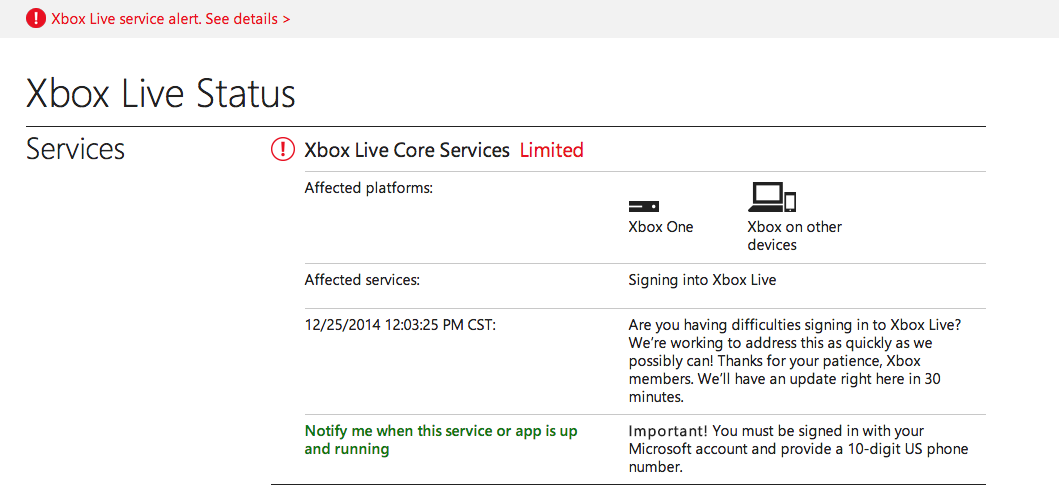 Xbox Live And PlayStation Network Are Having Major Problems Today
