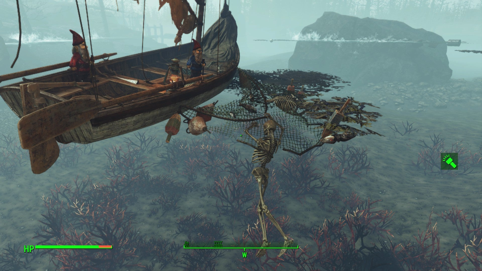 The Mystery Of What Fallout 4 S Far Harbor Dlc Hides Underwater