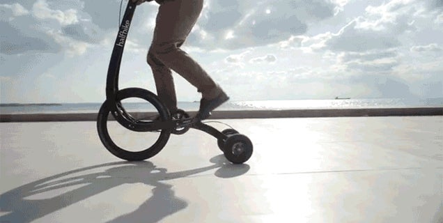 The Halfbike Is the Standing Desk of Bicycles