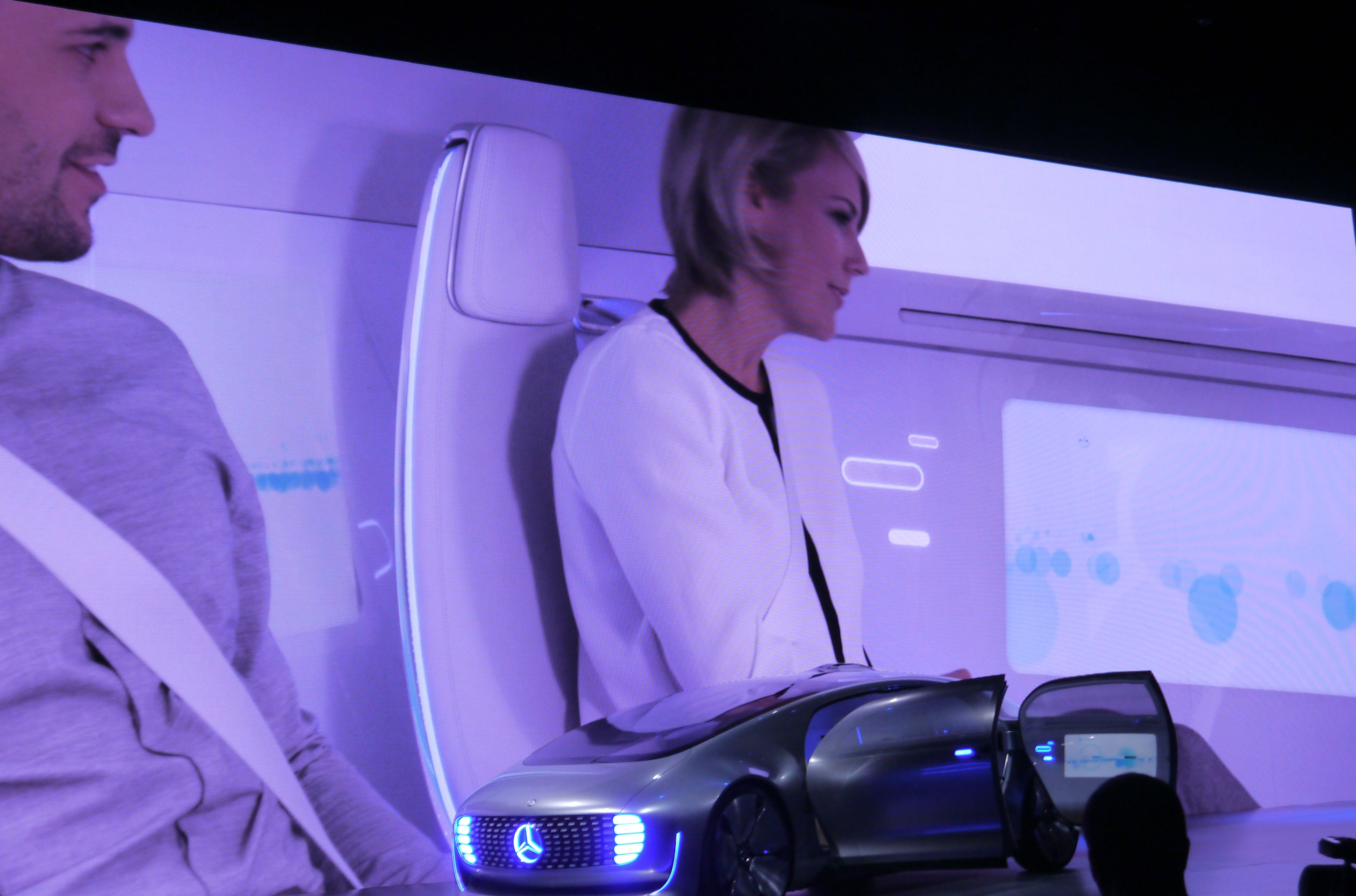 The New Mercedes Self-Driving Car Concept Is Packed Full of Future