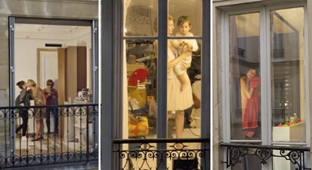 Sneak into Paris' homes with Gail Albert Halaban's voyeuristic photos