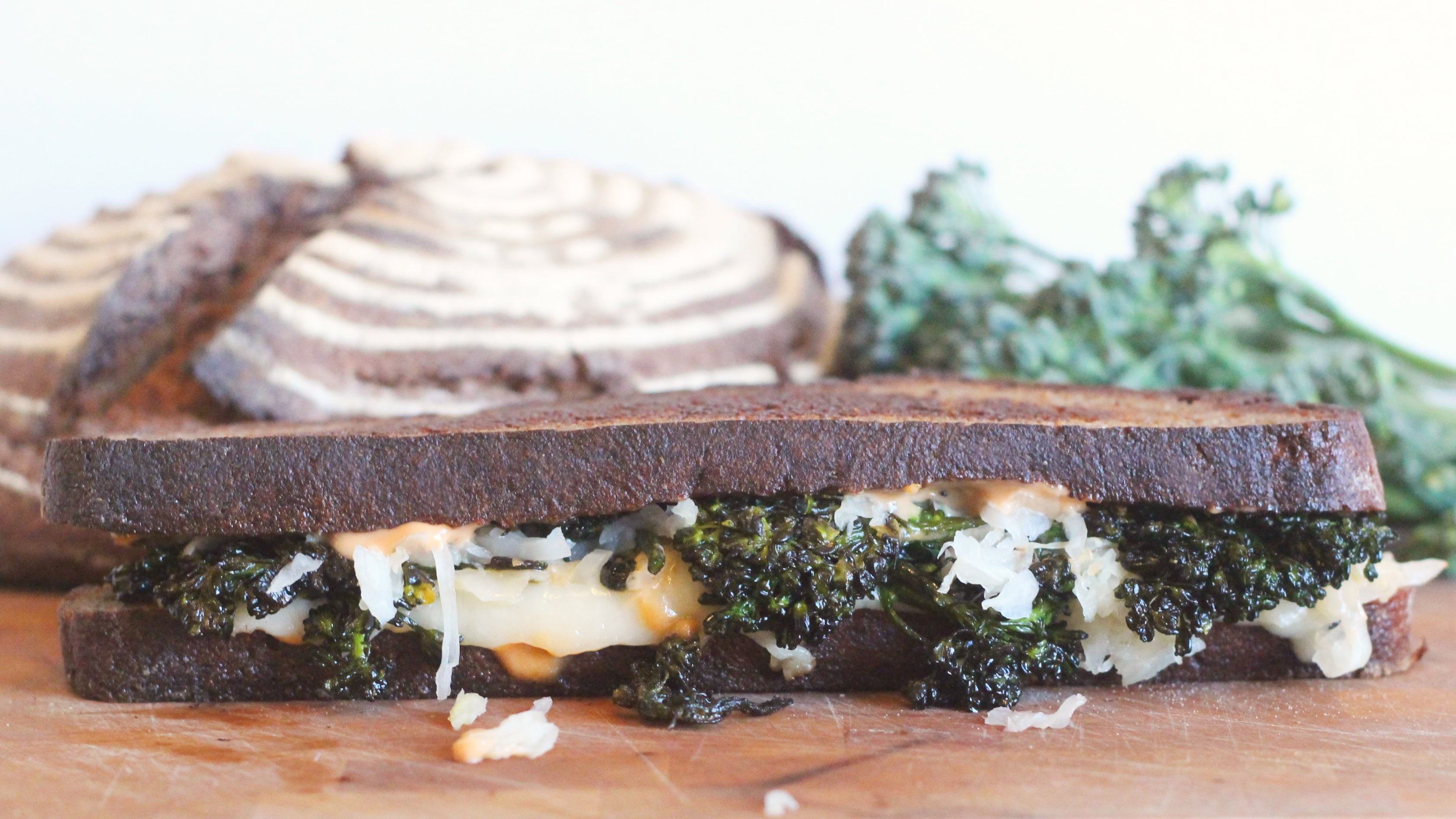 Make Any Veggie Sandwich Better By Treating It Like A Grilled Sandwich