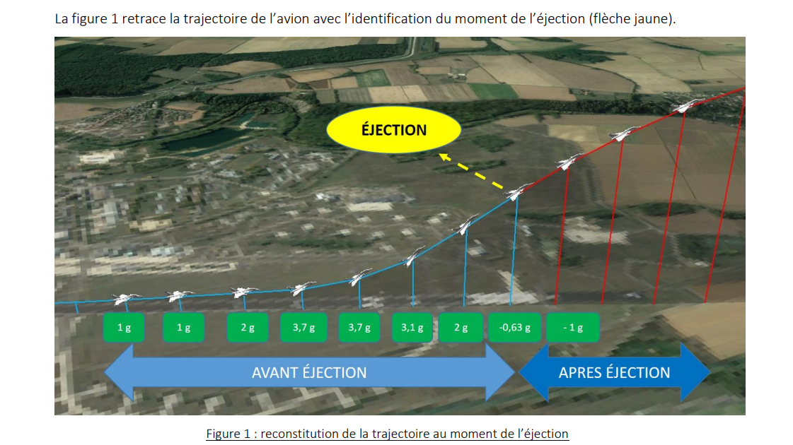 French Government Report Explains Fighter Jet Passenger That Ejected Himself Was Really Stressed Out