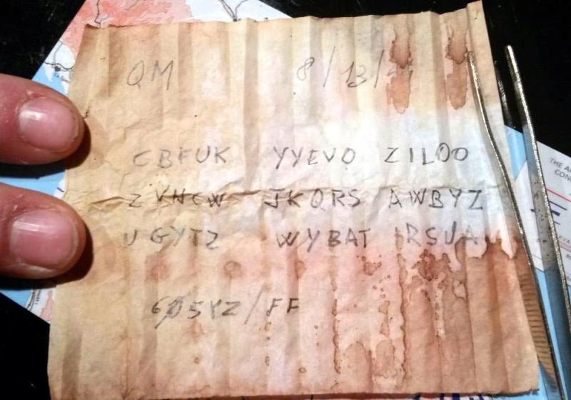 Secret message found inside WW2 bullet is the end to a very funny story