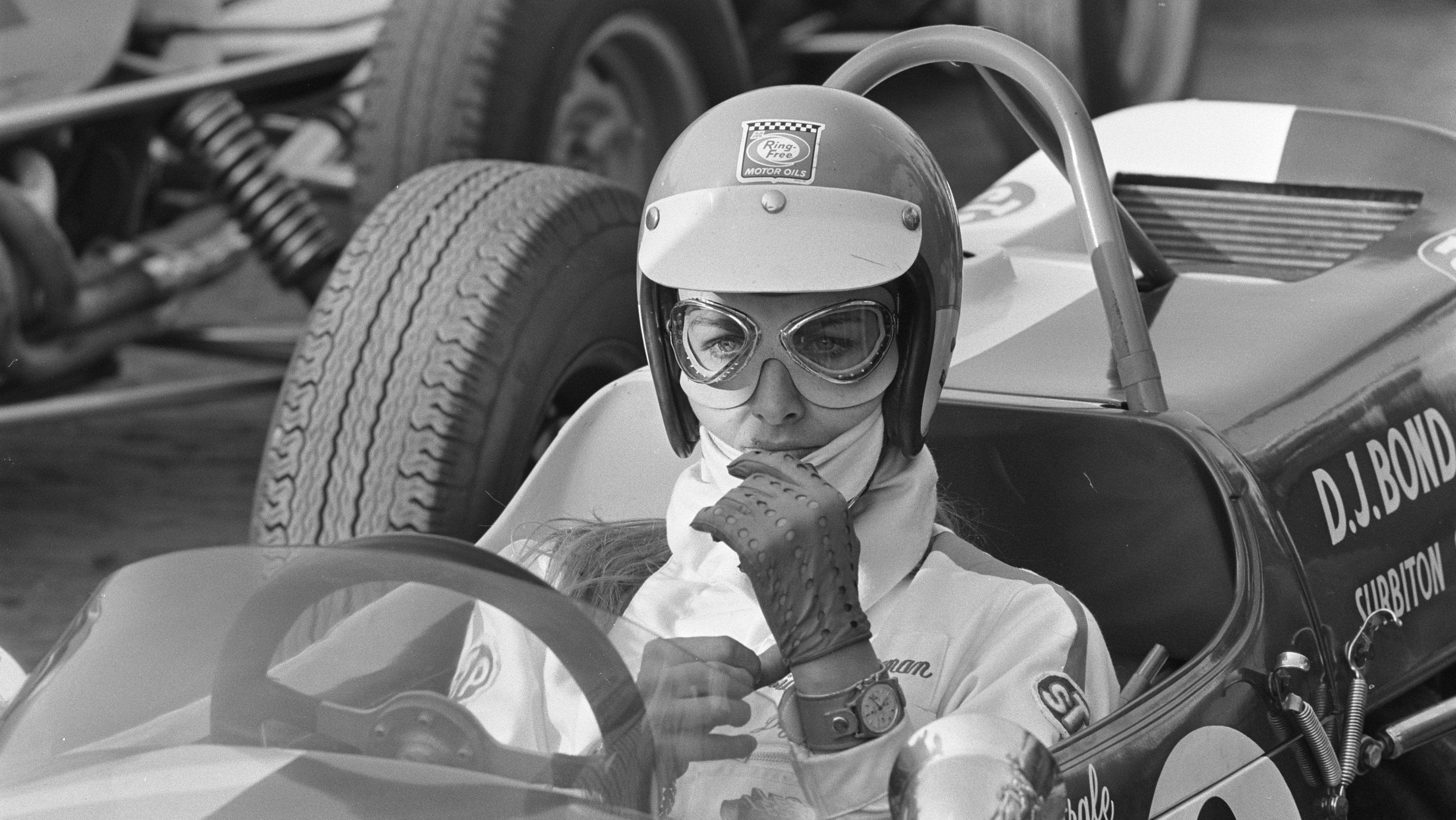 How Liane Engeman Became A Race Car Driver By Waiting At A Bus Stop