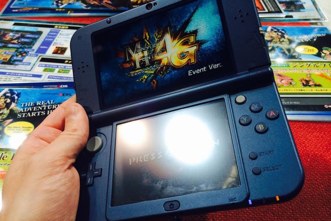 First Hands-On with the New Nintendo 3DS