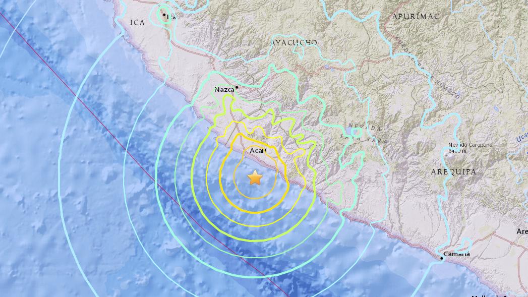 Magnitude 7.1 Earthquake Strikes Peru