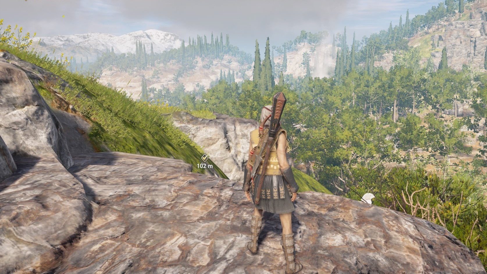 In Assassin's Creed Odyssey, I Travel In Straight Lines, No Matter What