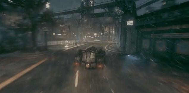 Nvidia Makes Batman: Arkham Knight Look All Fancy
