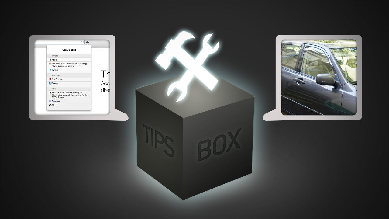 From The Tips Box: iCloud Tabs, Inbox Receipts, Siri Voices
