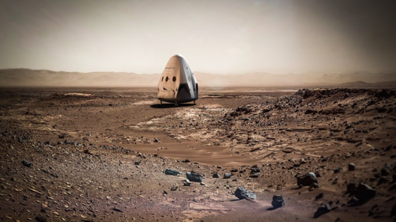 SpaceX Is Sending a Red Dragon Spacecraft to Mars in 2018 (UPDATE)