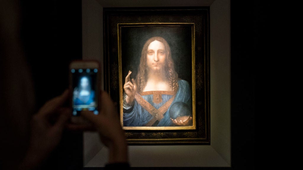 Someone Spent Almost Half A Billion Dollars On A Possibly Inauthentic Da Vinci Painting
