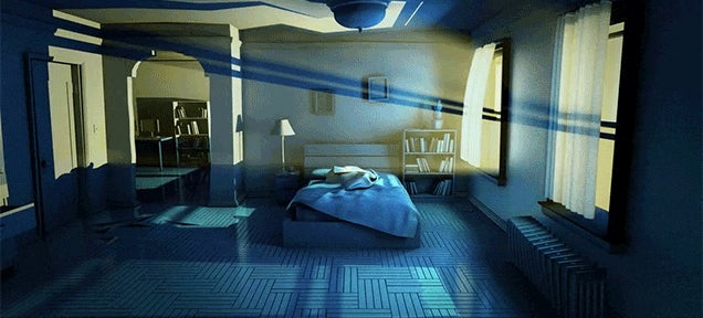 Awesome Animation Imagines the Nightmare That's Happening Around You When You Sleep