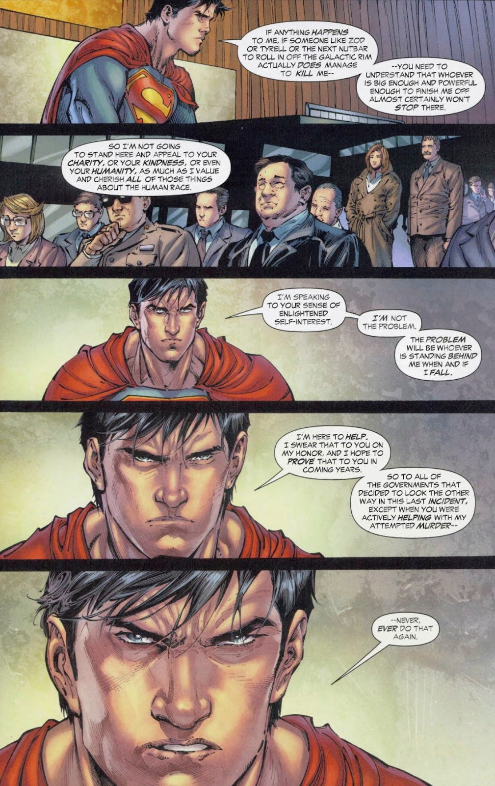New Superman Story Tries to Re-Write Man of Steel Movie's Big Mistake