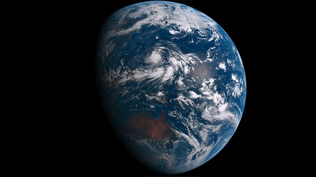 Seeing One Day Pass on Earth from Space Is Beyond Stunning