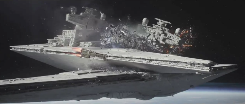 ILM Will Blow You Away With Digital Breakdown OfRogue One Scarif Battle