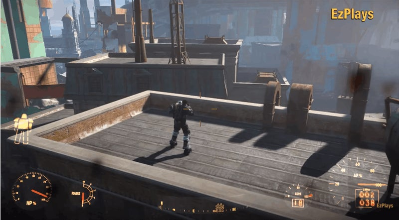 Fallout 4 Rocket Jump Mod Looks Like A Blast